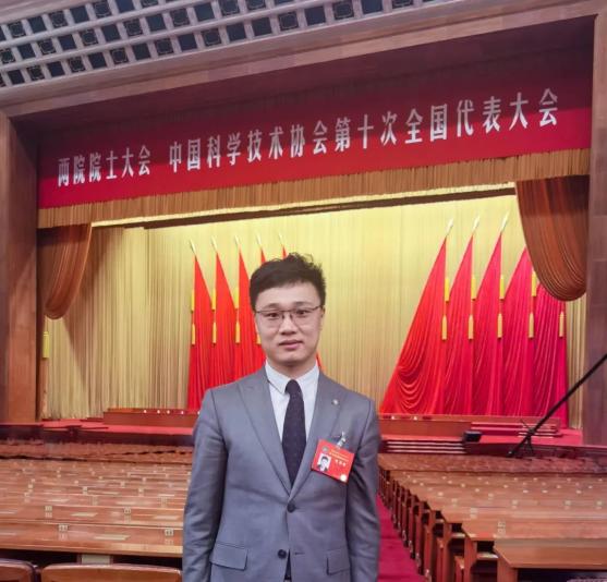 零壹空间董事长兼CEO舒畅参加中国科协第十次全国代表大会